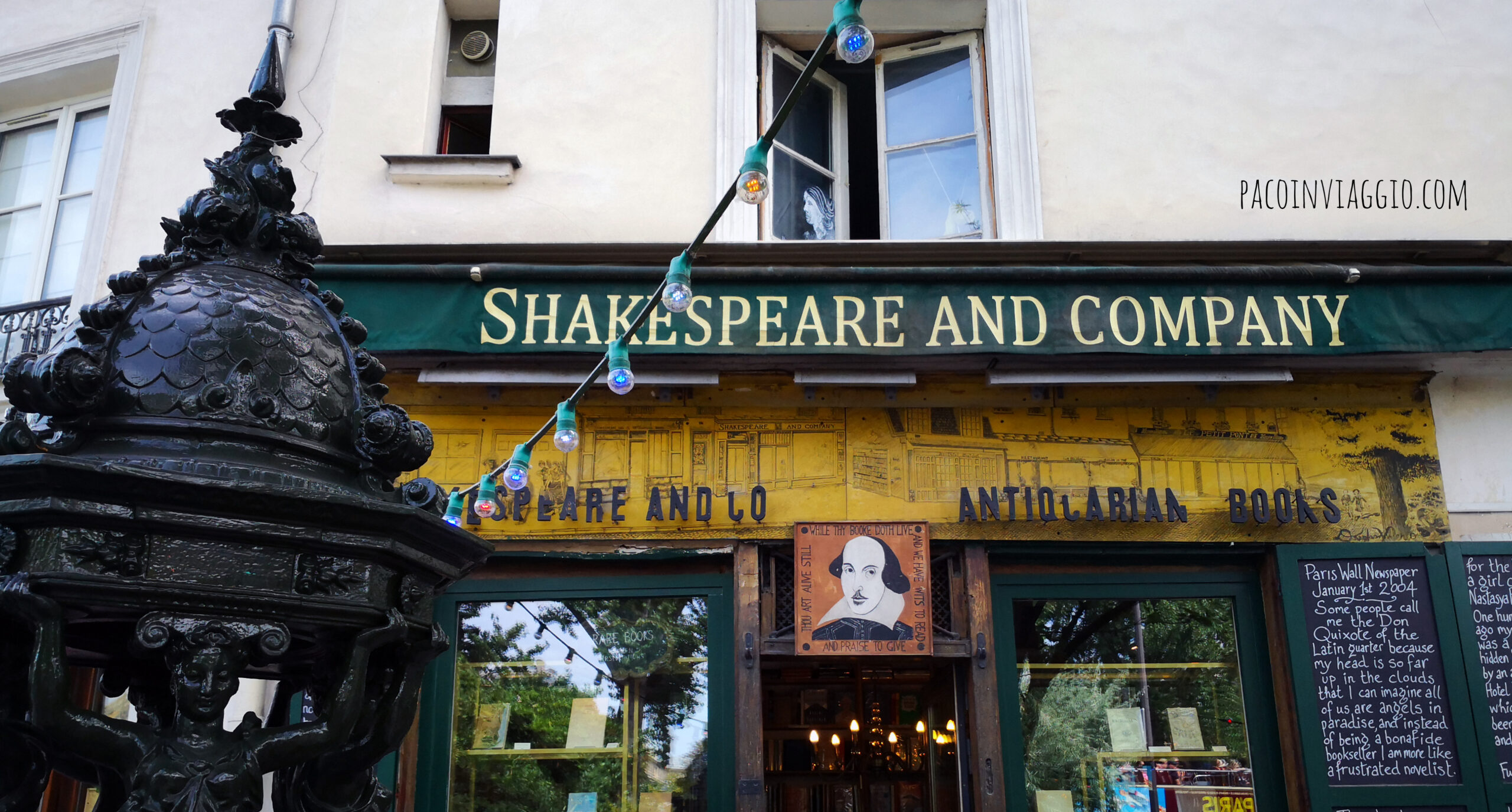 Un incantesimo da Shakespeare and Company